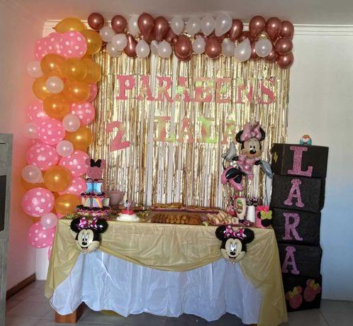 Decoração de festas, aniversários, chá de bebé, outros..