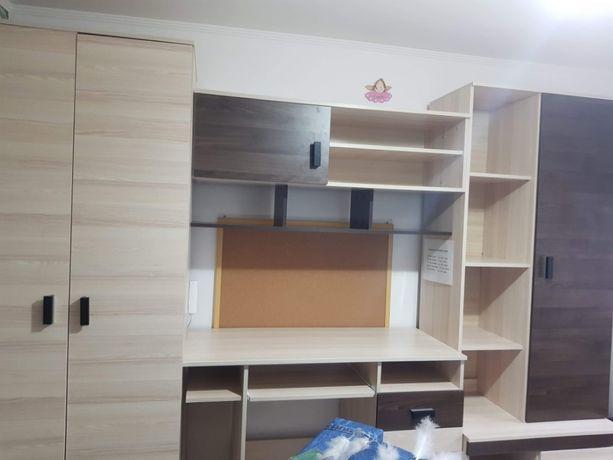 """Meblościanka Młodzieżowa z Biurkiem """"NELLA""""-IKEA"""