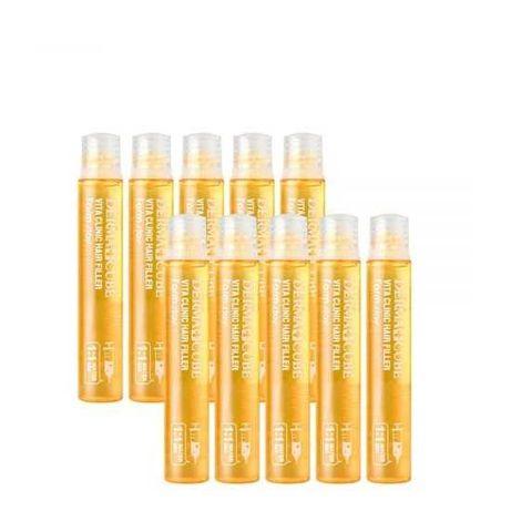 Филлер для волос с витаминами FarmStay Derma Cubed Vita Clinic Hair
