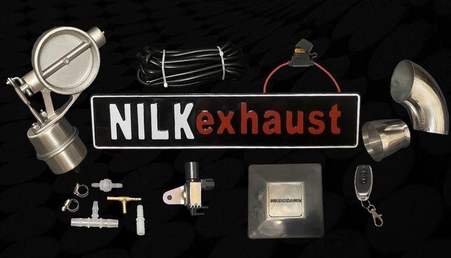 Вакуумная заслонка выхлопа NILKEXHAUST V1/прямоток/управляемый выхлоп