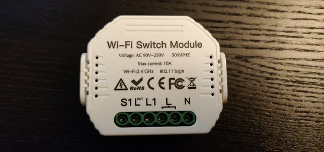 Modulo interruptor IOT - 1 Circuito - Controlo 2 vias