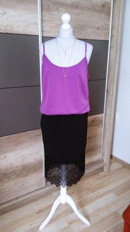 Czarna elegancka spódnica 42