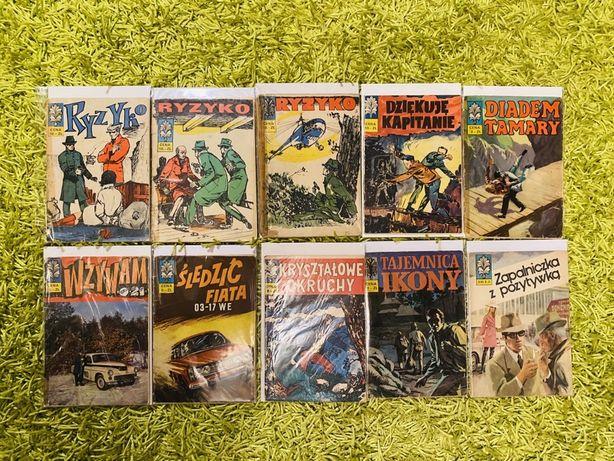 Komplet komiksów Kapitan Żbik