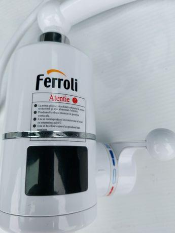 Elektryczna bateria ferroli, ogrzewacz przepływowy