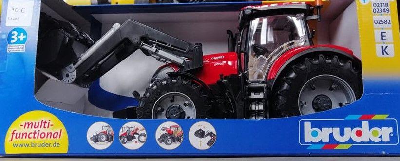 Trator CASE Optum 300CVX com Carregador Frontal Tornada E Salir Do Porto - imagem 1