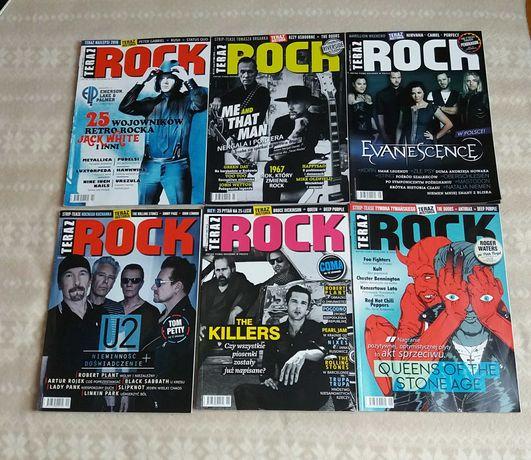 Teraz Rock magazyn muzyczny 6 numerów 2, 3,5,9,11,12/ 2017