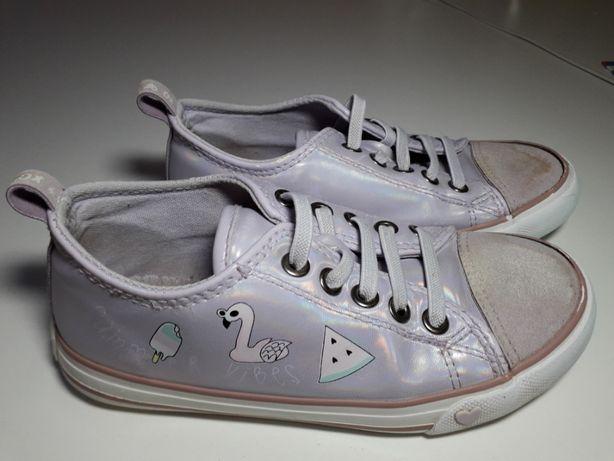 Buty sportowe dziewczęce trampki r.30
