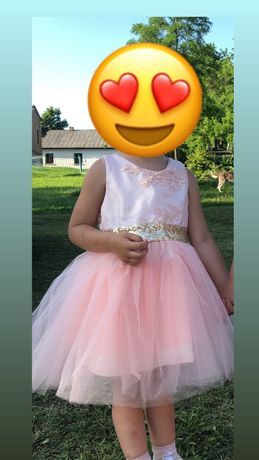 Детское платье , пышное платье , платье для девочки