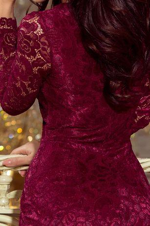 Nowa sukienka metka L koronkowa prezent walentynki piękna hit!!!