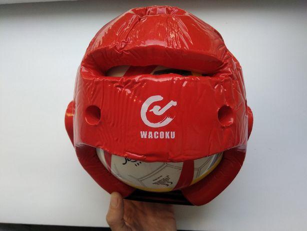 Защитный шлем для тхэквондо Wacoku WTF Head Guard, размер М