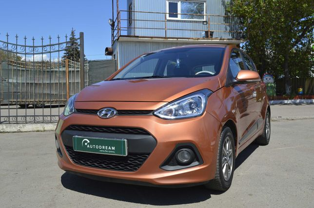 Компактный хэтчбек Hyundai i10