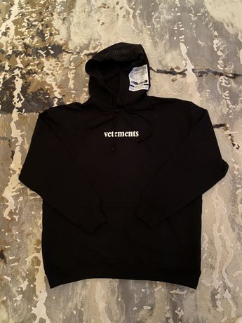 Худи Vetements off white gucci