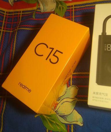 Realme C15 NFC 4/64Gb 6000mAh NEW БЕСПЛАТНАЯ доставка