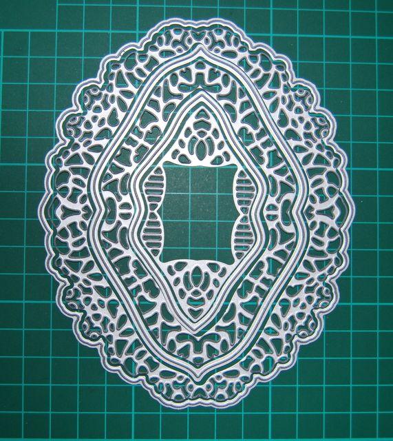 Wykrojniki 'ramki-serwetki, duży format' 6 elementów Golub-Dobrzyń - image 1