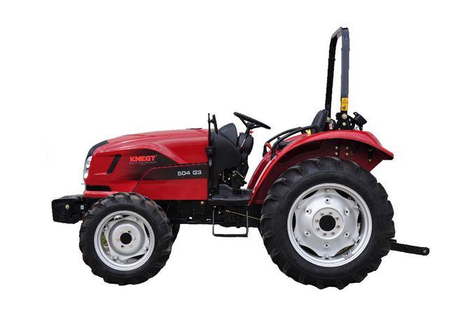 Nowy Traktor kompaktowy Knegt 504 50 KM Bez kabiny ROBS