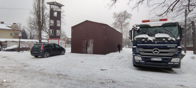 Garaże wiaty  blaszane producent 6x12