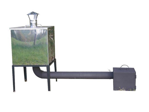 Wędzarnia metalowa z blachy nierdzewnej wędzarka palenisko