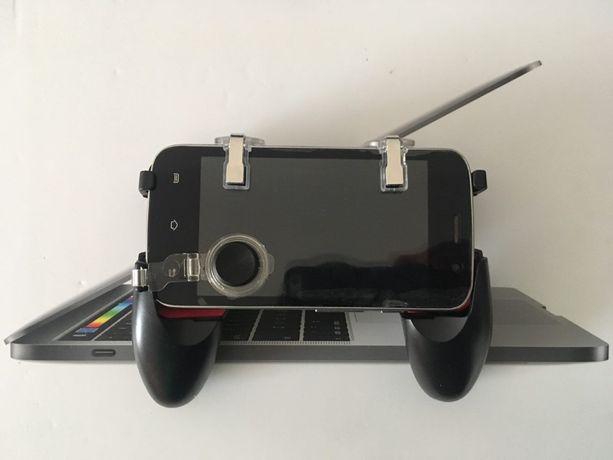 Геймпад 5в1 джойстик и триггеры для мобильной игры Pubg и Fortnite ТОП