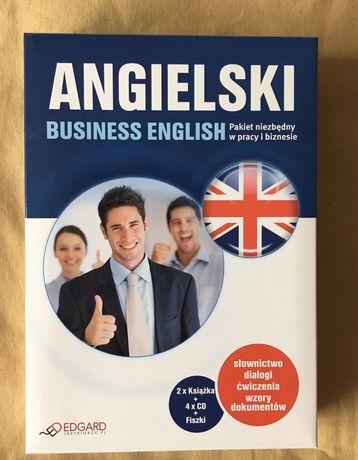 Angielski Business english audiokurs 2 ksiażki 4 CD i fiszki 100