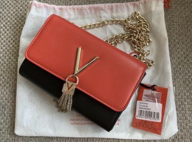 Красная сумка Valentino by Mario, Оригинал!