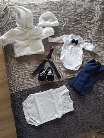 Ubranie na chrzest dla chłopca