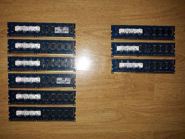 ram hynix 2GB(16GB) 2Rx8 PC3 10600E 1333Mhz