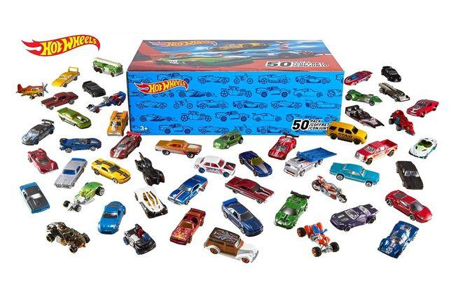 Hot Wheels 50-pack Машинки базові базовые Упаковка 50 шт хот вілс