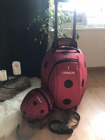 Nie wysylam! LittleLife Walizka + plecaczek ze smyczą dla dziecka