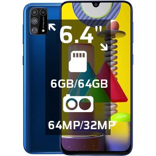 Продаю Samsung (Самсунг) Galaxy M31 (SM-315F) 6/128GB с гарантией!