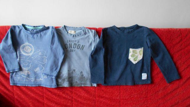 Spodnie i bluzki dla chłopca w rozm. 104 bawełna - całość taniej