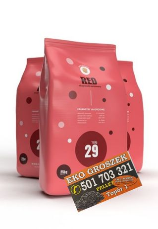 Ekogroszek Pan Groszek RED 27-29 mj/kg dostawa gratis* od Slawex
