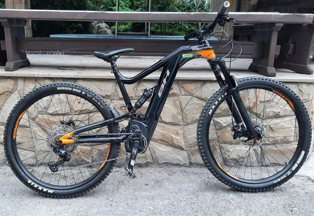 ATOM XLYNX 6 PRO 2020, ендуро, двухподвес,електровелосипед