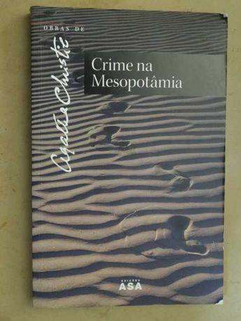 Crime na Mesopotâmia de Agatha Christie