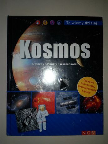 Książka nowa ciekawostki o kosmosie
