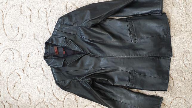 Кожаная курточка натуральная, кожаный пиджак