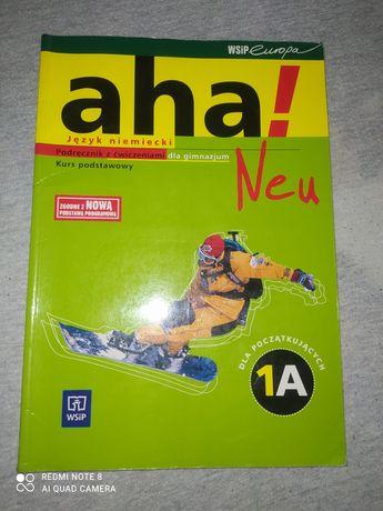 Sprzedam podręcznik książkę j.niemiecki  dla gimnazjum 1A