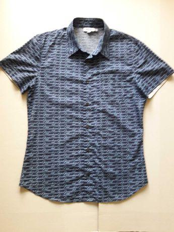 Moschino jeans мужская рубашка Оригинал 48 размер Hugo Boss Guess