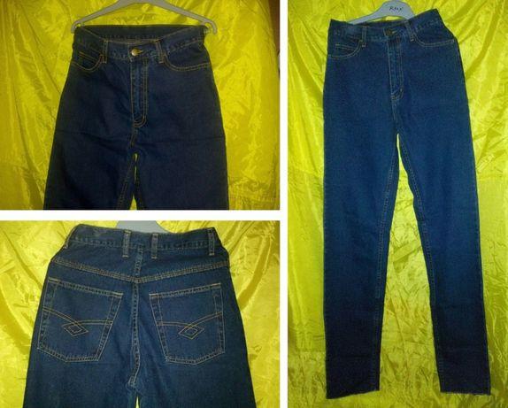 Одежда для мальчика высокого худого брюки джинсы тонкие летние р. 28