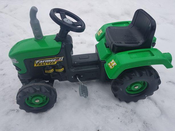 Traktor dla dziecka na pedały Farmer stan bardzo dobry