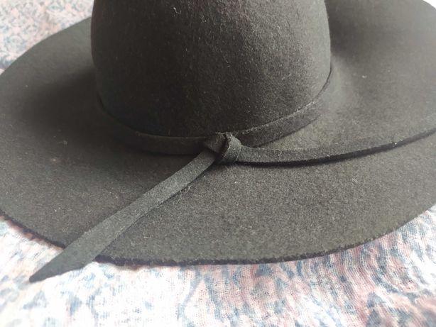 Фетрова класична шляпа / фетровая шляпа / капелюх жіночий