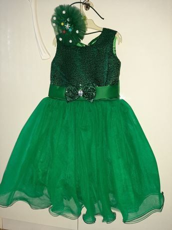 Святкове плаття ялиночка