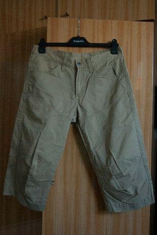 MUSTANG Szorty Bermudy Spodenki spodnie 3/4 M/L profilowane kolana