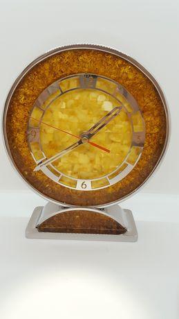 Bursztynowy zegar