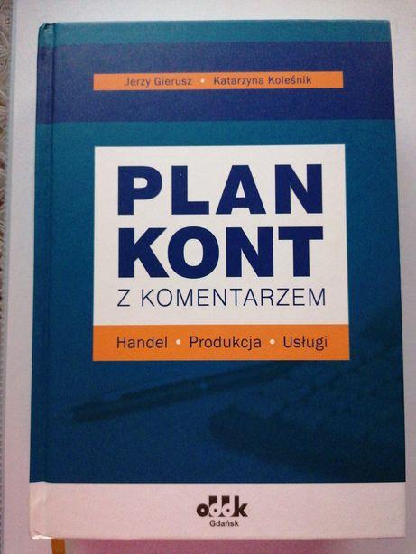 Plan kont z komentarzem - J. Gierusz