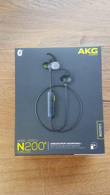 Słuchawki bezprzewodowe AKG N200 wireless - NOWE