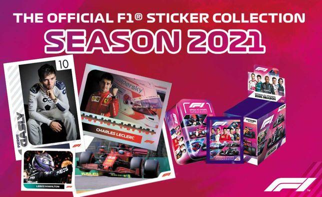 Topps Formula 1 Stickers Season 2021 - Cromos Formula 1 F1