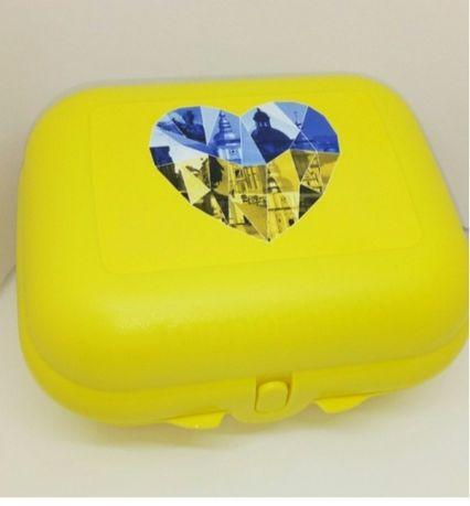 Ланч-бокс Я люблю Украину Tupperware