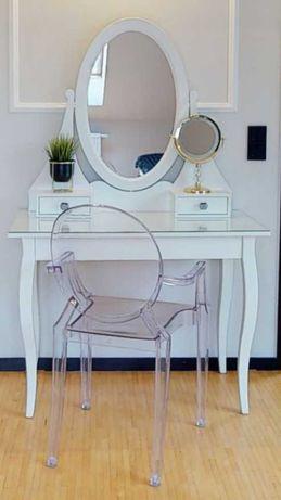 Biała toaletka Hemnes + gratis  krzesło