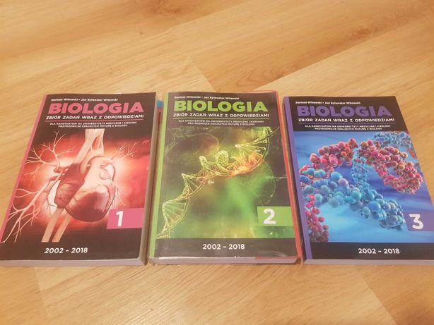 Zbiór zadań - biologia cz 1, 2 i 3