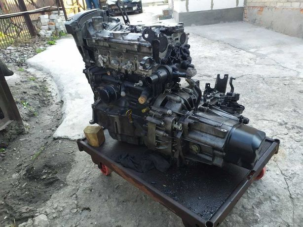 МКПП JH3 (143) на Renault Megane 2 (двигатель K4M, 1.6L)
